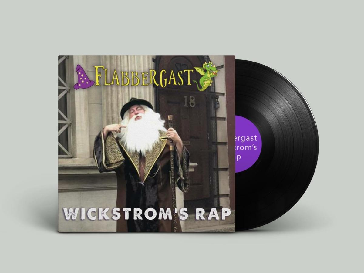 Flabbergast Wizard Fytherley Undercliffe rap album cover